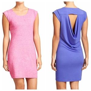 Athleta Scoop Neck Pink Dress Size XS C/MQ